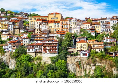 Cityscape of Veliko Tarnovo (Bulgaria)