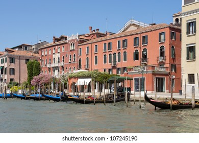 Cityscape of Venice taken from the Grand Canal, Italy