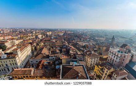 Cityscape in Verona, Italy