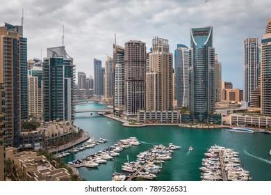 Cityscape view Marina
