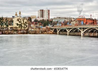 Cityscape of Vinnytsia (Ukraine), HDR-technique
