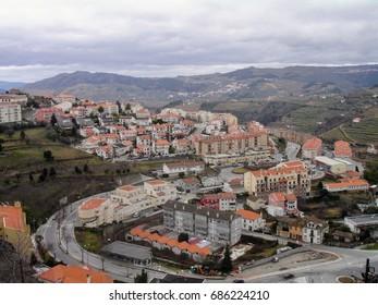 Cityscape of Viseu, Portugal