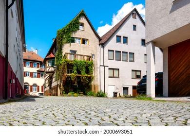 Cityscape of Weil der Stadt, Wuerttemberg, Germany - Shutterstock ID 2000693051