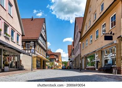 Cityscape of Weil der Stadt, Wuerttemberg, Germany - Shutterstock ID 2000693054