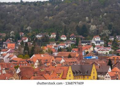 Cityscape of Wertheim