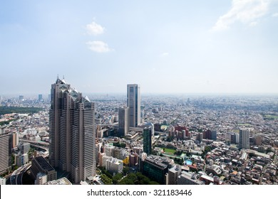 A cityscape of West Tokyo.