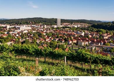 Cityscape of Winterthur (Switzerland)