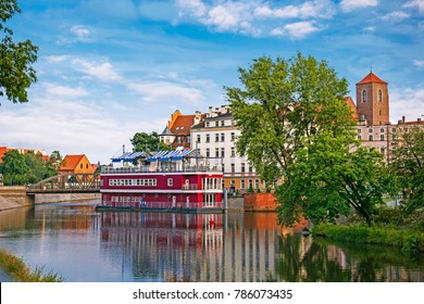 Cityscape of Wroclaw, Poland