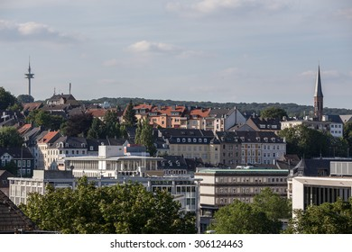 cityscape wuppertal germany