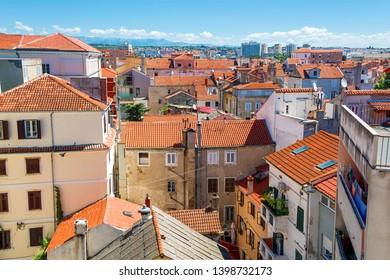 Cityscape of Zadar in Croatia