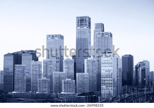 cityscape-Beijing city skyline