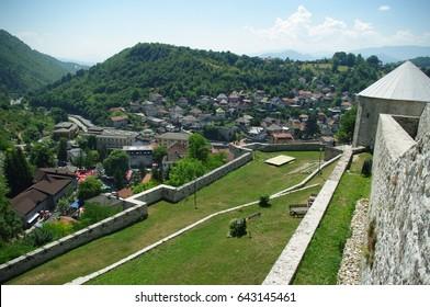 Cityscape/Landscape/Panoramic View of Travnik, Bosnia and Herzegovina