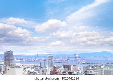 fc736a53838 Cityscapes Kobe Fog Winter Skyline Kobe Stock Photo (Edit Now ...