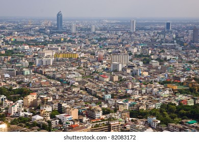 cityscape's in middle of Bangkok in Thailand