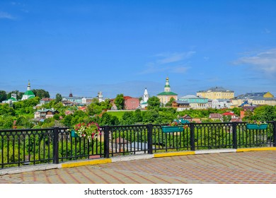 Cityscapes of the Vladimir town of Russia