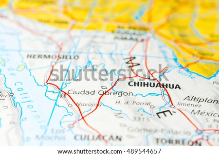 Obregon Mexico Map.Ciudad Obregon Mexico Stock Photo Edit Now 489544657 Shutterstock