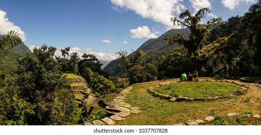 Ciudad Perdida aka the Lost City in Colombia.