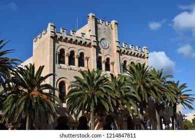 Ciutadella Menorca Town Hall building