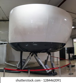 Civil aviation training simulator