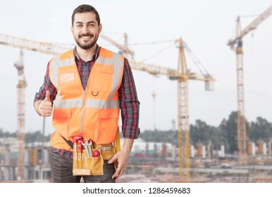 civil engineer construction builder man