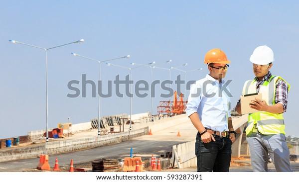Civil Engineering Road Construction Stock Photo (Edit Now