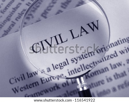 Civil Law Documents Stock Photo Edit Now Shutterstock - Law documents