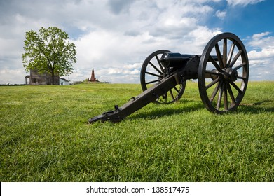 Civil War Cannon Manassas National Battlefield Park Virginia