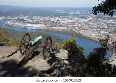 Civil War Canon - Point Park Chattanooga Tennessee - War Memorial