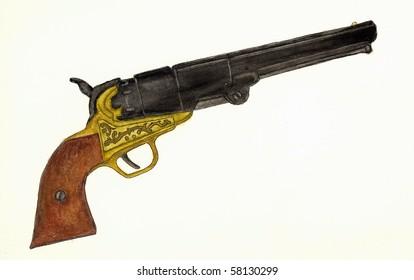 Civil War Pistol