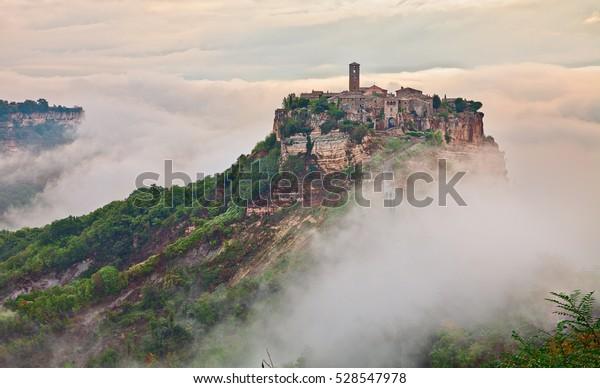 Civita Di Bagnoregio Viterbo Lazio Italy Royalty Free Stock Image