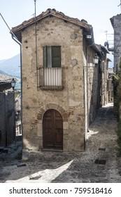 Civitella del Tronto (Teramo, Abruzzi, Italy), medieval town