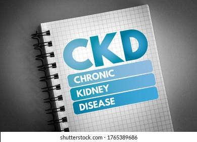 CKD - Akronym zur chronischen Nierenerkrankung, medizinischer Hintergrund