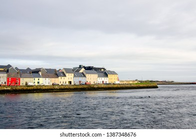 The Claddagh area of Galway in Ireland