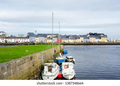 Claddagh Quay. City of Galway, Ireland