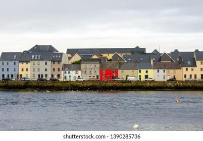 Claddagh Quay in Galway, Ireland