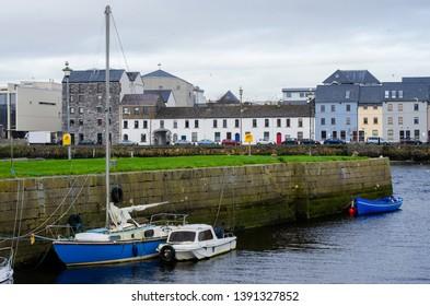 Claddagh and River Corrib. Galway, Ireland
