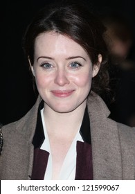 Claire Foy arriving for the Life Of Pi premiere, at Empire Leicester Square, London. 03/12/2012 Picture by: Alexandra Glen