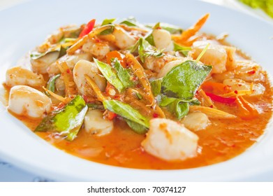clam spicy curry