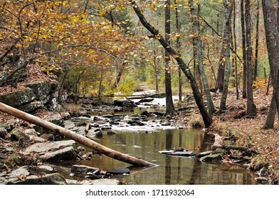 A clam stream in Broken bow, Oklahoma