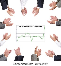 Clapping to a new Financial Forecast