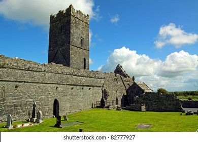 Clare Abbey Ennis Co. Clare Ireland