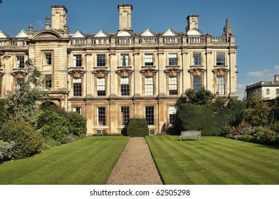 Clare College at summer time.
