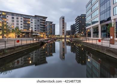 Clarence Dock in Leeds, also called Leeds Dock