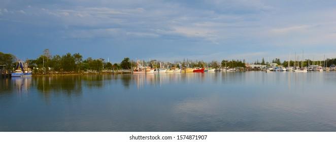 Clarence River Marina , Yamba  Australia