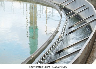 Clarifier wastewater treatment plant process used to convert wastewater into effluent can be returned to water cycle with minimal environmental issues.