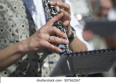 Clarinet in a brass band