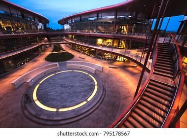 Clark center at Stanford University