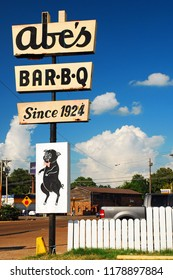 Clarksdale, MS, USA July 20, 2010 Abe's BBQ has been feeding the hungry residents of Clarksdale, Mississippi since 1924