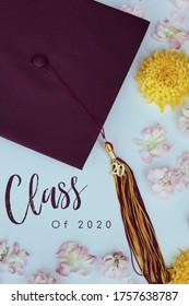 Class of 2020 Beautiful Cap and Tassel Photo