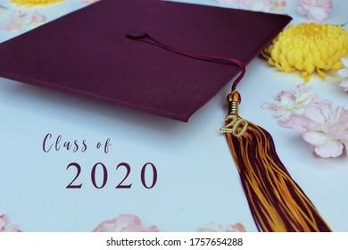 Class of 2020 Beautiful Graduation Cap and Tassel